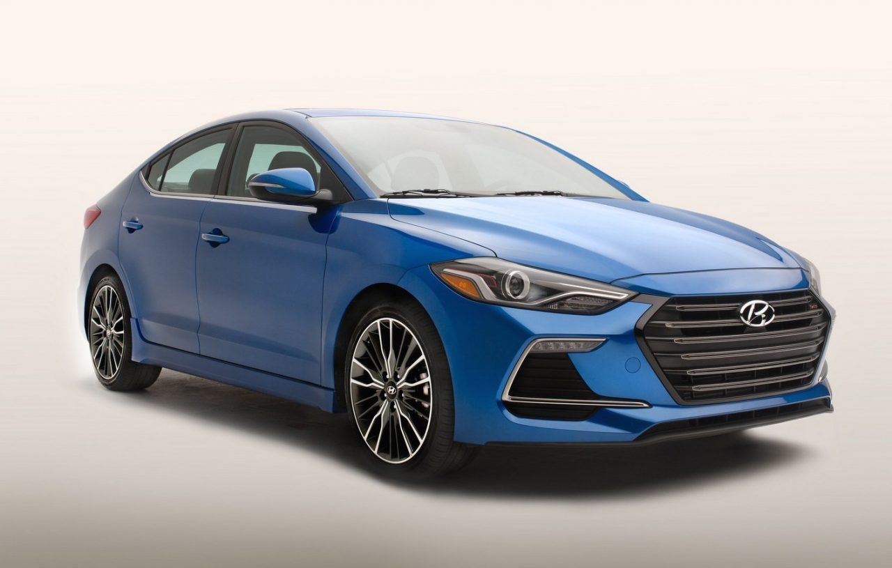 2017 hyundai elantra sport turbo announced for us market performancedrive. Black Bedroom Furniture Sets. Home Design Ideas