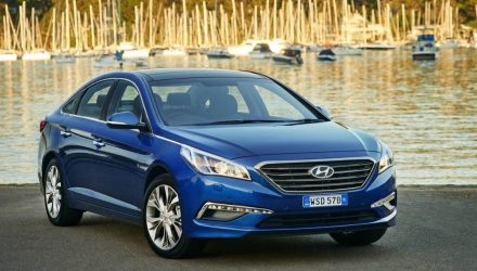 2017 Hyundai Sonata on sale in Australia from $30,590