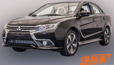 2017 Mitsubishi Lancer spotted in China, for China only