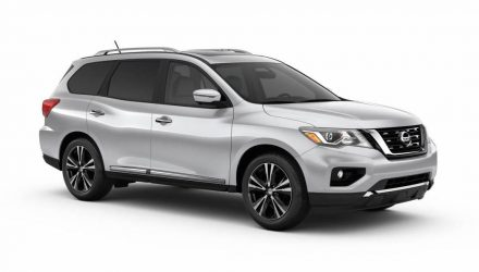 2017 Nissan Pathfinder update revealed