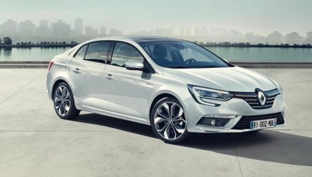 Renault unveils sporty new Megane sedan