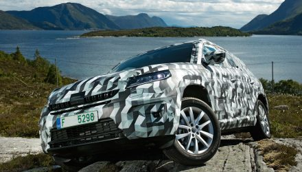 Skoda Kodiaq prototype revealed, some specs confirmed