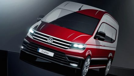 2017 Volkswagen Crafter previewed, gets latest design language