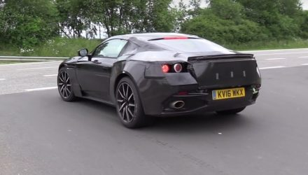 Next Aston Martin V8 Vantage getting AMG 4.0TT? (video)
