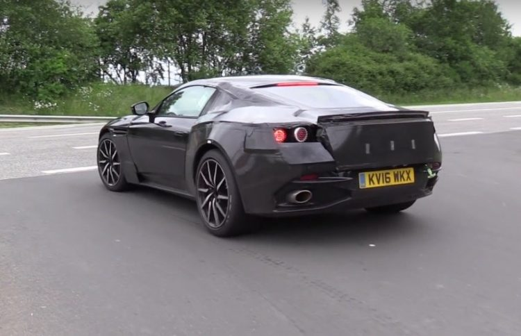 2018 Aston Martin V8 Vantage-prototype