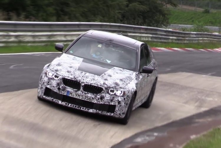 2018 BMW M5 F90 prototype