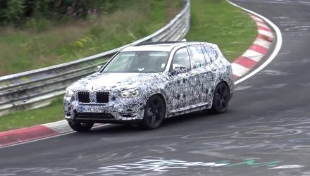 2018 BMW X3 M confirmed, barking prototype hits Nurburgring