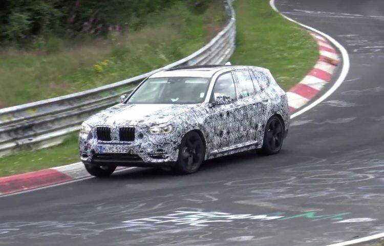 2018 BMW X3 M prototype