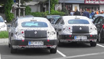 Next-gen Opel Insignia spotted, 2018 Commodore? (video)