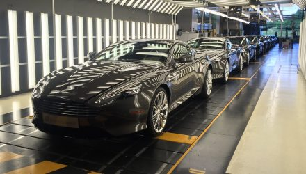Aston Martin DB9 production comes to an end