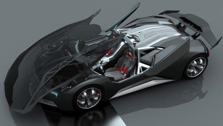 Audi Mesarthim F-Tron concept-roof