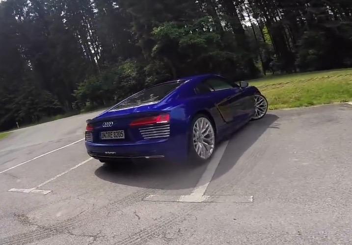 Audi R8 e-tron production car