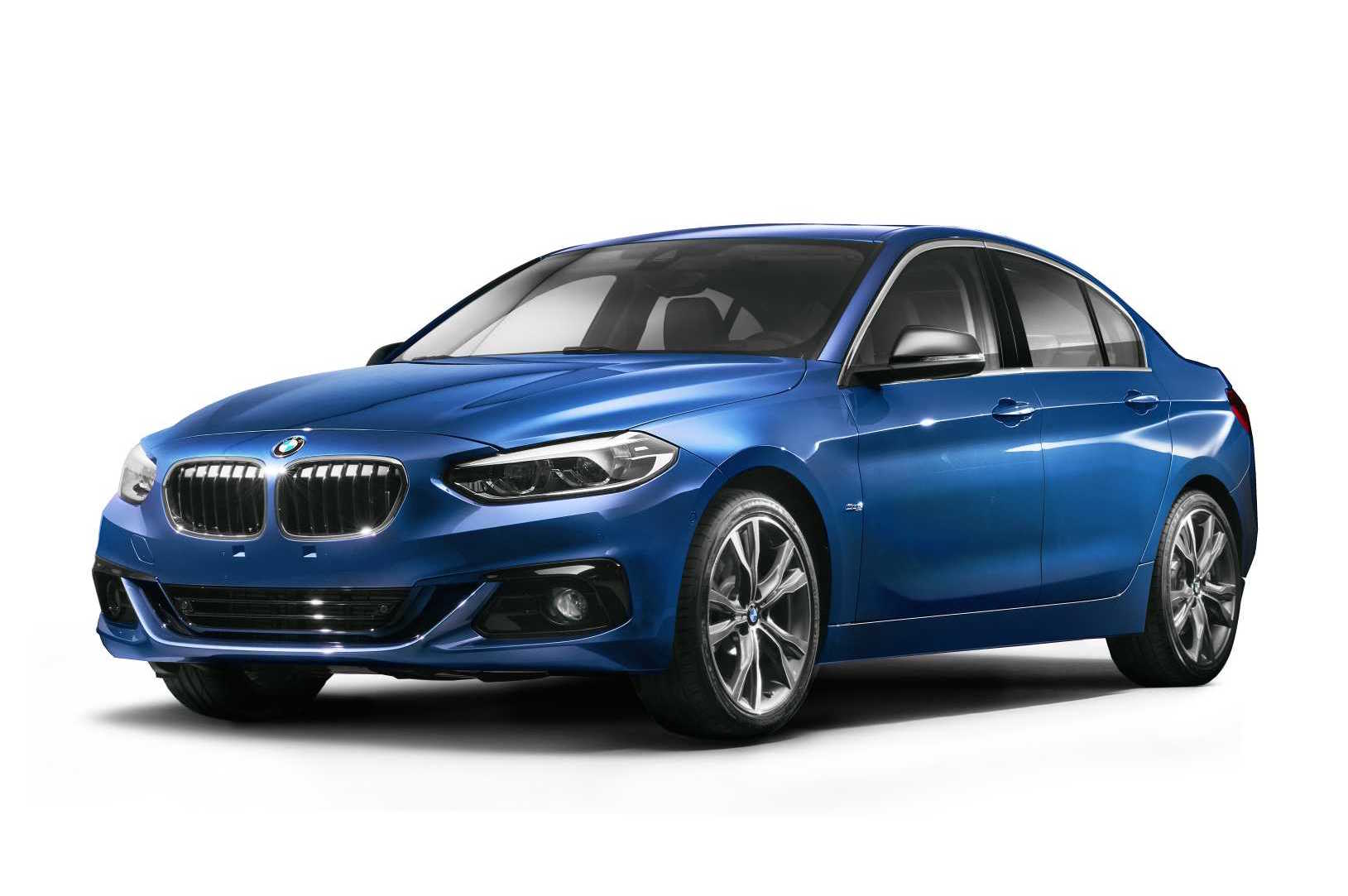 bmw 1 series sedan revealed for china only performancedrive. Black Bedroom Furniture Sets. Home Design Ideas