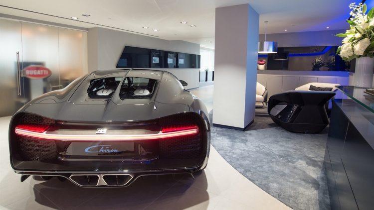Bugatti Chiron London showroom-3