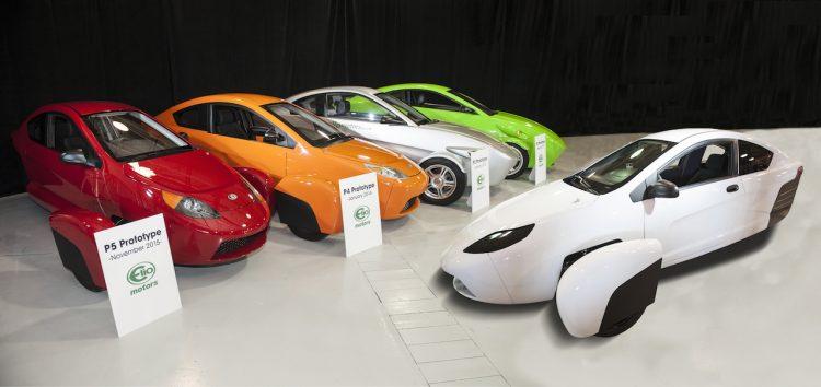 Elio Motors prototypes