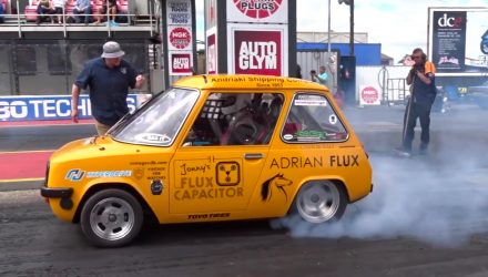 Fifth Gear host creates wild Enfield 8000, quickest EV in the world?