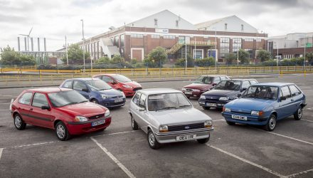 Ford Fiesta celebrates 40 years of production