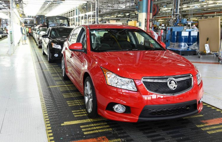 Holden Cruze production