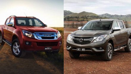 Mazda & Isuzu partner up for next-gen ute
