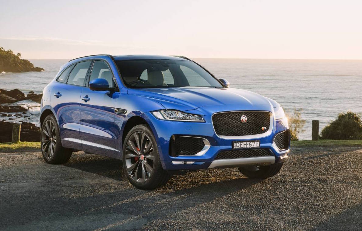 jaguar f pace now on sale in australia from 74 340 performancedrive. Black Bedroom Furniture Sets. Home Design Ideas