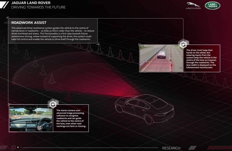 Jaguar Land Rover-Roadwork Assist