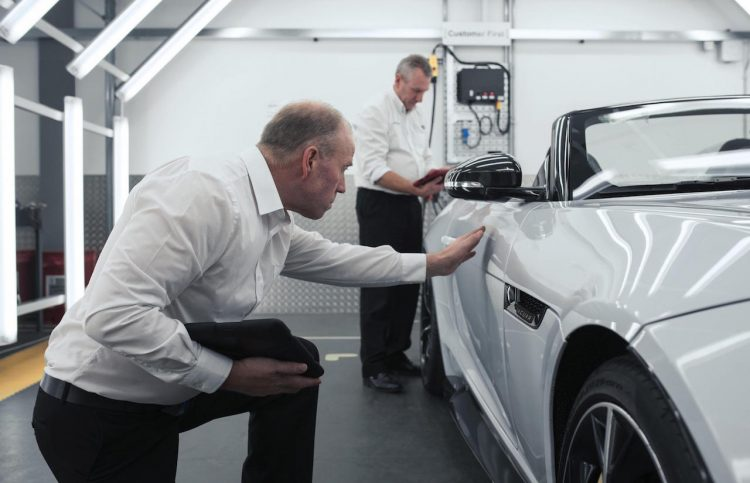 Jaguar Land Rover SVO facility