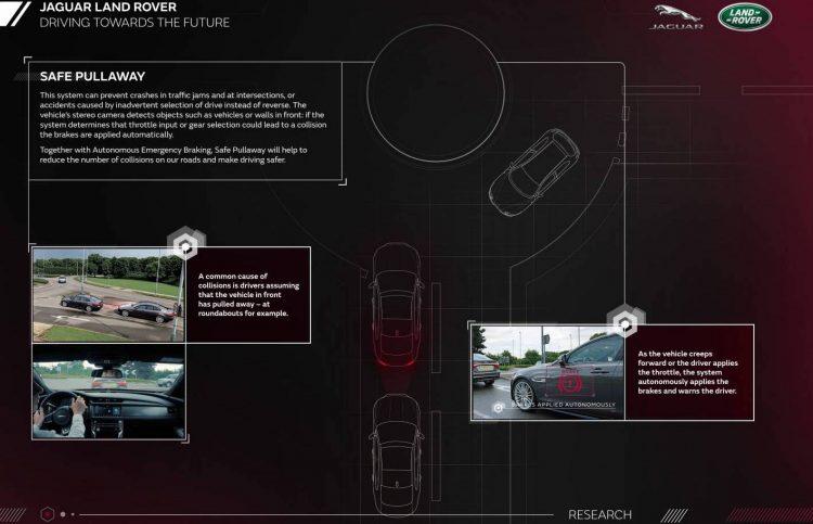 Jaguar Land Rover-Safe Pullaway
