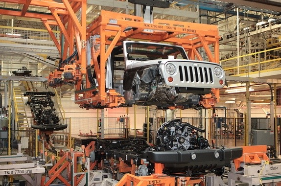 Jeep production Toledo Ohio