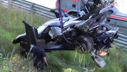 Koenigsegg confirms Nurburgring crash due to ABS failure