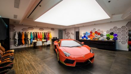 Lamborghini opens Ad Persona Studio at headquarters