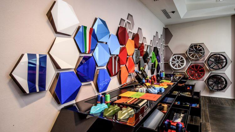 Lamborghini Ad Personam Studio-options