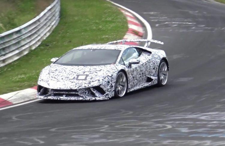 Lamborghini Huracan Superleggera prototype