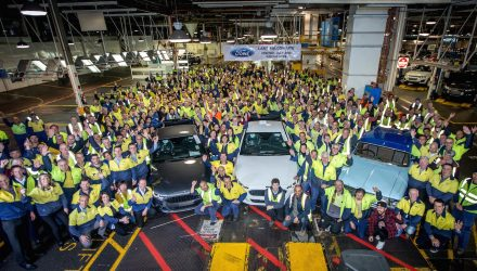 Last ever Ford Falcon ute rolls off the production line