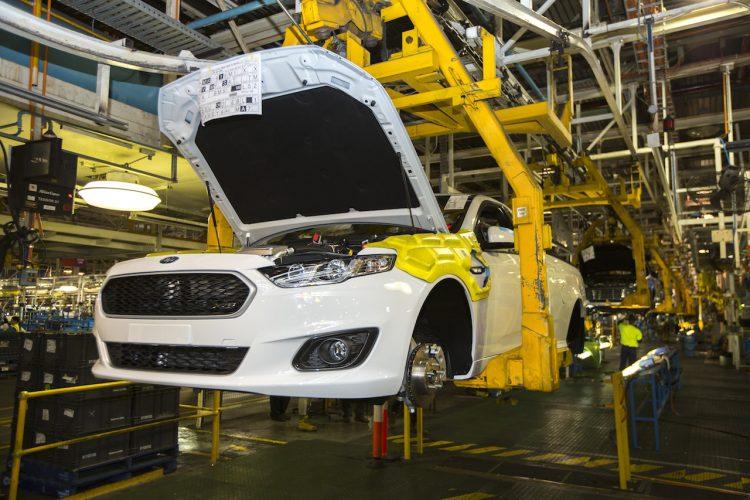 Last Ford Falcon Ute produced