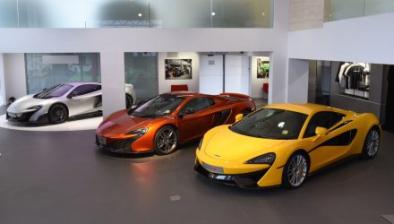 McLaren opens third showroom in Australia; Gold Coast