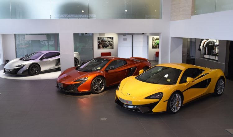 McLaren Gold Coast Showroom