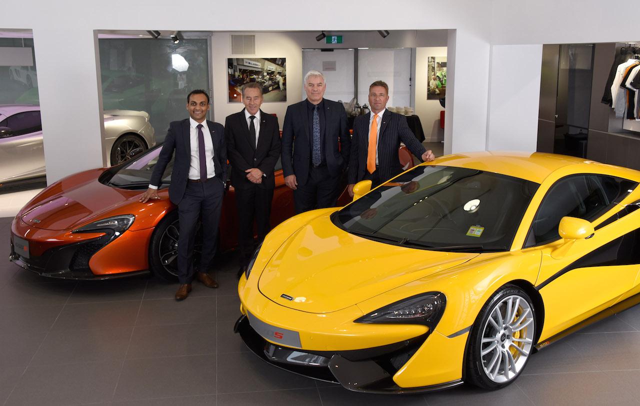 Mclaren Opens Third Showroom In Australia Gold Coast