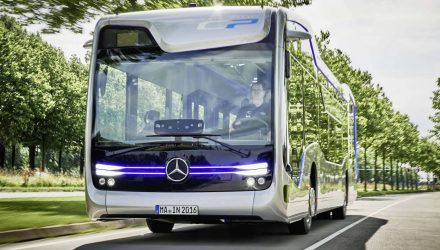 Mercedes bus concept shows off potential autonomous future