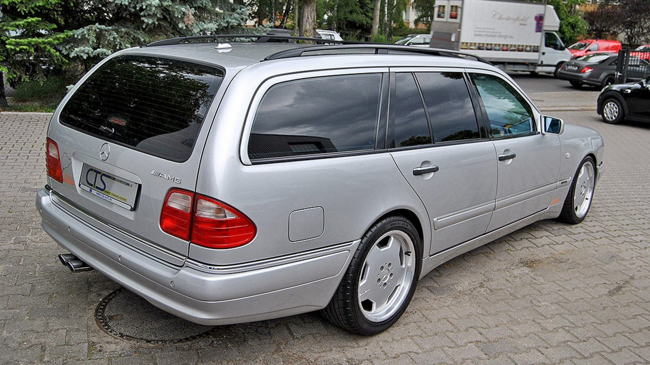 For sale 1998 mercedes e 55 amg wagon owned by schumacher for Who owns mercedes benz now