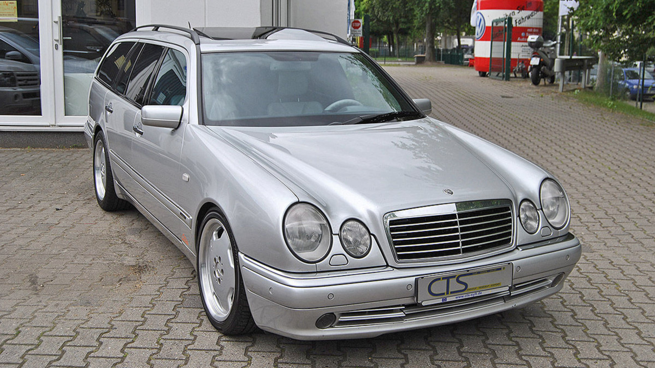 For sale 1998 mercedes e 55 amg wagon owned by schumacher for Mercedes benz amg wagon for sale