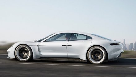 Porsche Mission E EV sports car creating 1400 jobs