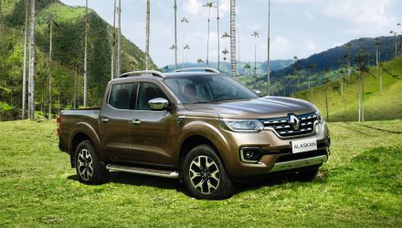 Renault Alaskan revealed, Renault's first 1-tonne ute