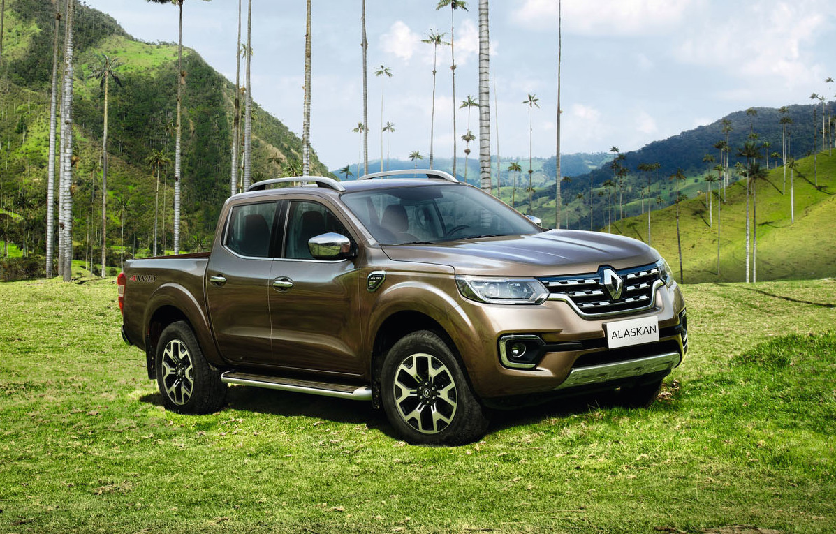 Renault Alaskan revealed, Renault's first 1-tonne ute ...