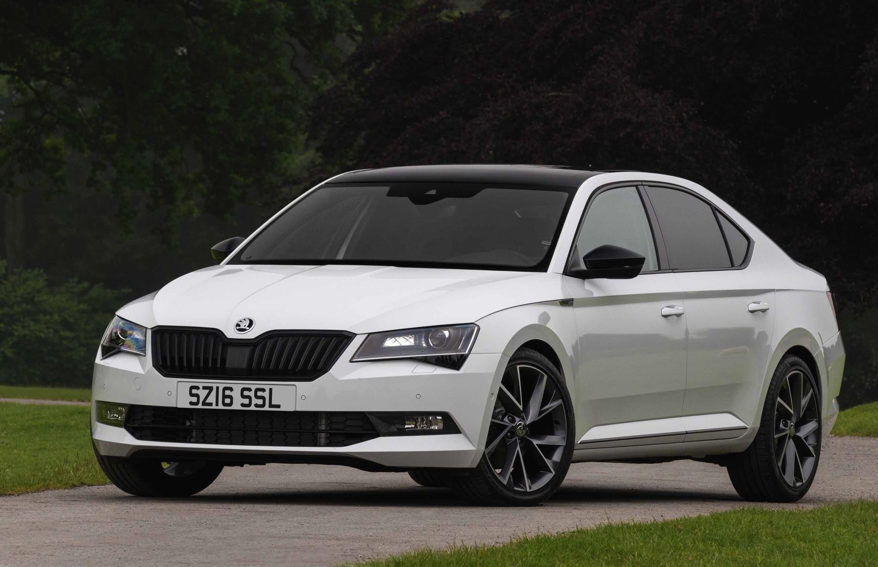 skoda superb vrs could be on the cards report performancedrive. Black Bedroom Furniture Sets. Home Design Ideas