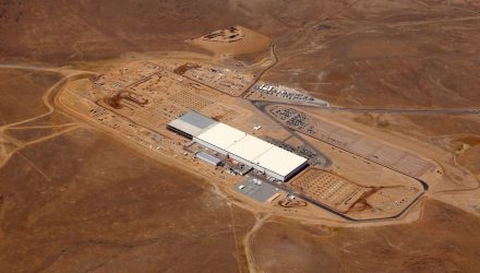 Tesla opens small (large) portion of Gigafactory