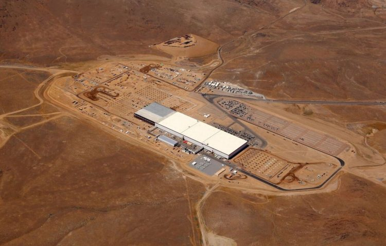 Tesla Gigafactory 14 percent complete