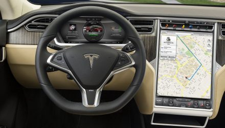 Tesla developing version 8.0 software, Autopilot gets new off-ramp function