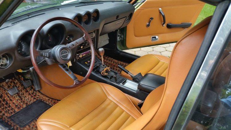 1973 Datsun 240Z-interior