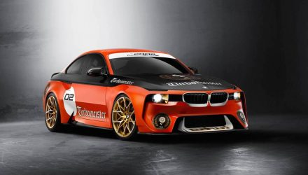 Updated BMW 2002 Hommage concept debuts at Pebble Beach
