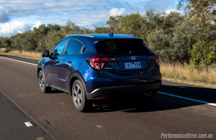 2016 Honda HR-V VTi-L rear